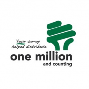 One million and counting Logo