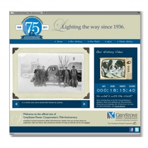 75th Anniversary Website - Spotlight on Excellence Award
