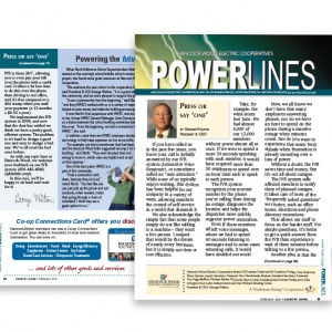 PowerLines Newsletter - Spotlight on Excellence Award