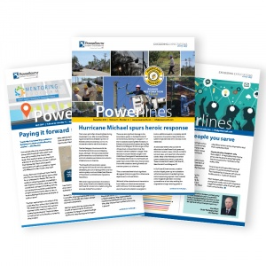 Powerlines Monthly Newsletter