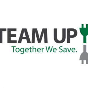 Team Up to Power Down Logo