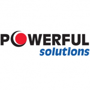 Powerful Solutions Logo (Based on Blue Ridge Electric's corporate logo)